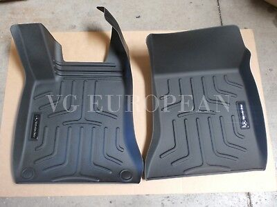 Mercedes-Benz CLA GLA B-Class Genuine All Season Rubber Floor Mats Front NEW