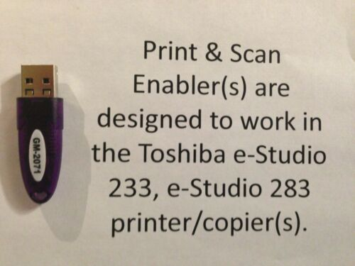Toshiba GM-2071 Print & Scan Enabler
