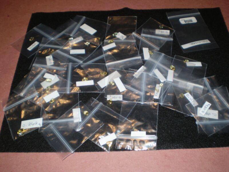 20 Carats Lot of 34 Natural Heliodor Beryl Loose Gemstones Misc Cuts + Sizes