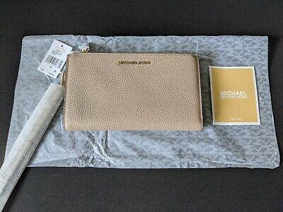 GENUINE MICHAEL KORS SMART PHONE WRISTLET / PURSE - TRUFFLE RRP $108