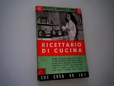 NICO FERRINI - RICETTARIO DI CUCINA 1950