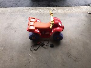 Power Wheels Toddler Quad