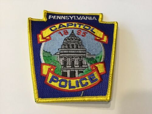 PENNSYLVANIA CAPITOL  POLICE PATCH