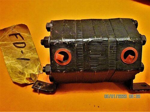 FD204A Hydraulic Flow Divider/Intensifier FD-1, Barnes ? Stamped GB - New