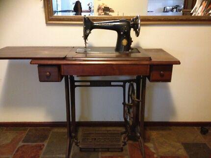 Singer Treadle Sewing Machine Cockburn Peterborough Area Preview