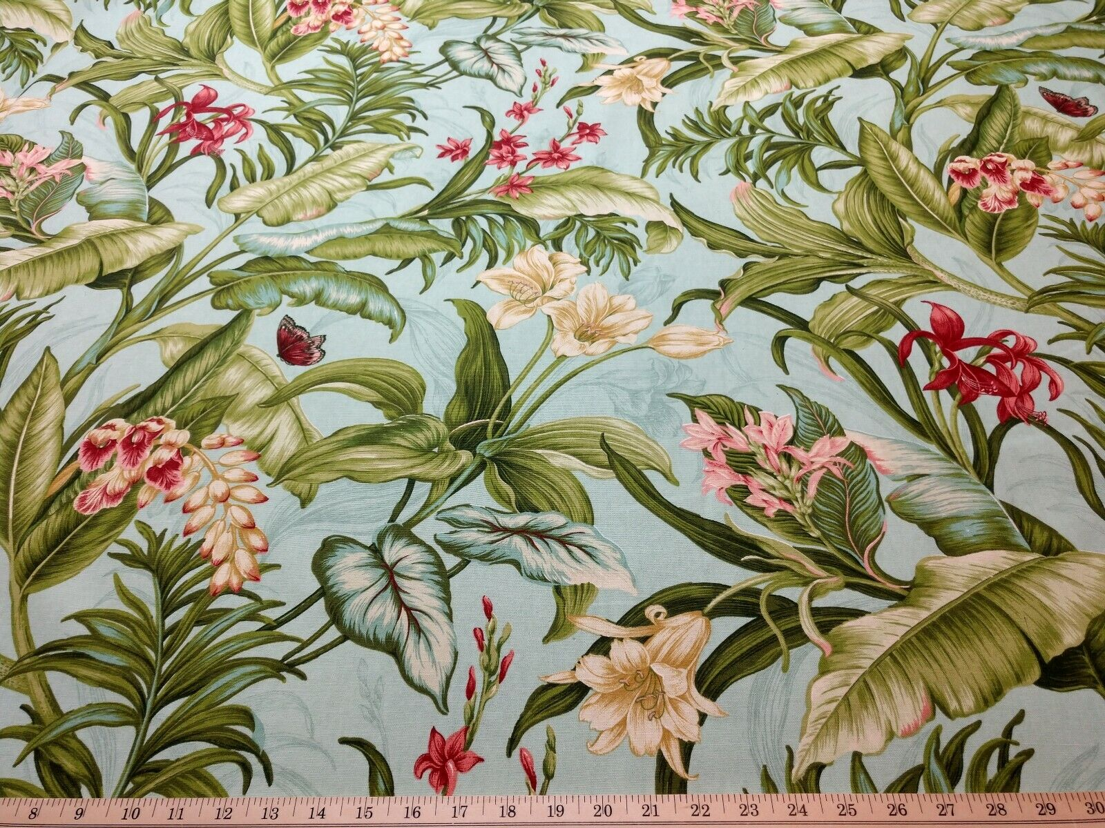 Waverly Wailea Coast In Bloom Home Decor Drapery Fabric  BTY