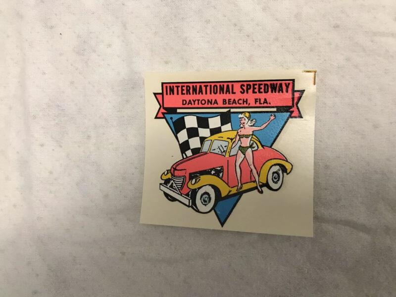 NOS Vintage Decal Daytona Beach Speedway