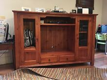 TV unit. - solid timber (197 w X 60 cm deep) Burwood Heights Burwood Area Preview