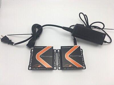Atlona HDMI 1.3 Extender with Bi-Directional IR Cat5e/6 AT-HD-BIR40SR Atlona Hdmi Extender