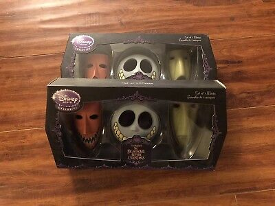 The Nightmare Before Christmas Lock Shock and Barrel Set of 3 Mini - Lock Shock And Barrel Masks
