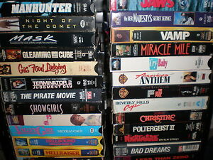 selling vhs movies for cash