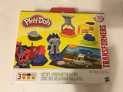 BRAND NEW Play-Doh Transformers Robots in Disguise Optimus Prime Mini Gift Set