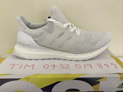 Brand NEW Adidas Ultra Boost 3.0 Triple White US8.5 – US12