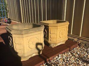 Concrete planter pots Coogee Cockburn Area Preview
