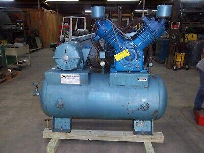 Kellogg American 25 Hp Reciprocating Piston Air Compressor