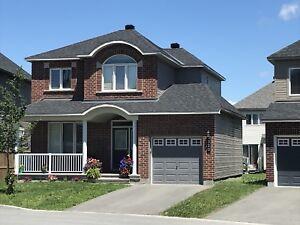 Sep 1st! Single House for Rent in Kanata Lakes/Kanata North