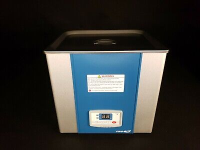 Vwr Symphony 9.5 Liter Ultrasonic Cleaner Bath 180 Watts 35khz - New Old Stock