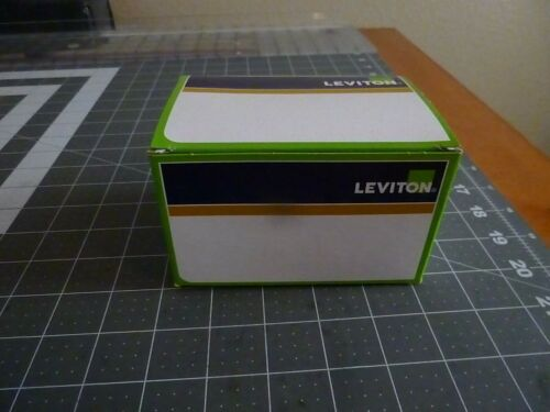 Leviton MS603-FW: 60 Amp - 600 Volt - Toggle - Three-Pole AC Motor Starter