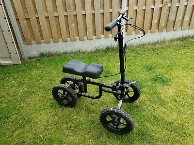 Knee Scooter All Terrain   Crutches alternative   Foldable