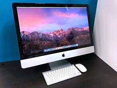 "Apple iMac 27"" / 3.4GHz Quad Core i7 / 16GB RAM / HUGE 2TB / OS2017 / WARRANTY"