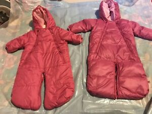 Winter Baby Girl Outfits $5