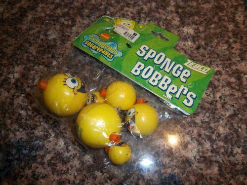 Zebco Spongebob Squarepants Sponge Bobbers Sealed 2003 Rare