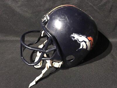 Denver Broncos Halloween (NFL Denver Broncos  Franklin   Helmet Replica Plastic Halloween Costume)