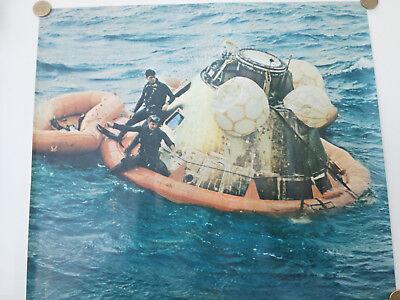 Amérrissage de la capsule Apollo 11