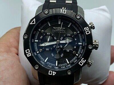 Invicta Pro Diver 28753 Men's Quartz Watch 50mm - Black/Stainless
