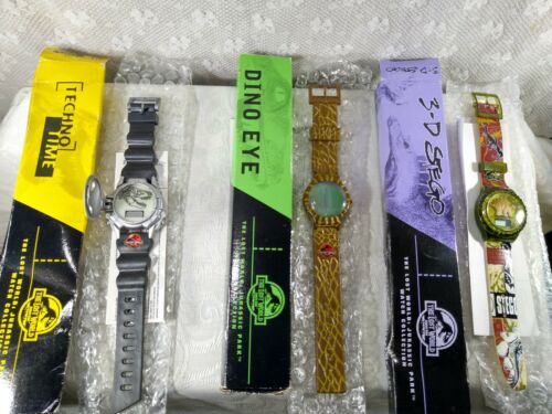 """Vintage 1997 Burger King """"The Lost World of Jurassic Park""""  Wrist Watches"""