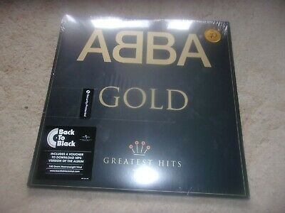 ABBA - GOLD ,  2 x Black Vinyl LP set ; New & Sealed