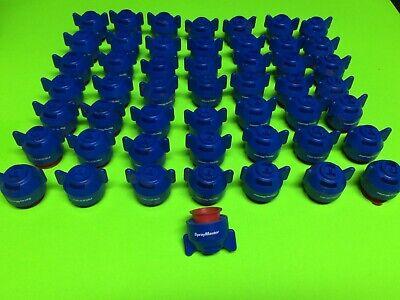 50 Brand New John Deere Blue Pmqer1003 Nozzle Sprayer Nozzles Spray Master