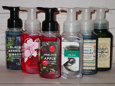 BATH AND BODY WORKS GENTLE FOAMING HAND SOAP ASSORTMENT OF *5* NEW RANDOM 8.75OZ - Gentle Foaming Hand Soap
