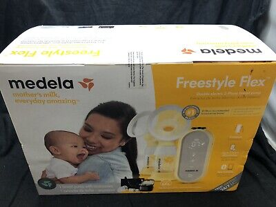 BRAND NEW MEDELA FREESTYLE FLEX DOUBLE ELECTRIC 2 PHASE BREAST PUMP