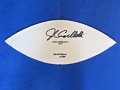 JOHN CAPPELLETTI SIGNED 1973 FOOTBALL PANEL - 1973 PENN STATE - HEISMAN