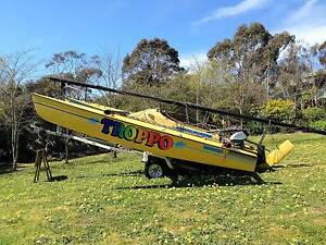 Haines Hunter Super Tramp Trimaran T/Sailer - MAKE AN OFFER!!!! Clifton Springs Outer Geelong Preview