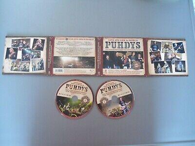 Gebraucht, 2 CD BOX PUHDYS  - DAS JUBILÄUMSKONZERT VOM NEUJAHRSTAG LIVE O2 WORLD gebraucht kaufen  Rathenow