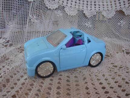 POLLY POCKET PALE BLUE CAR