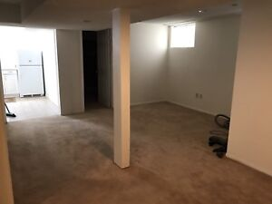 Newly Renovated Basement for rent with separate entrance
