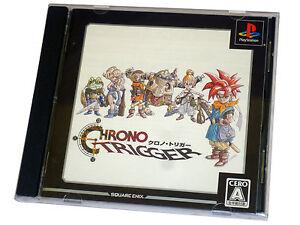 Japanese-Sony-Playstation-1-RPG-Game-CHRONO-TRIGGER-JP-JAP-PSX-PS1-SQUARESOFT
