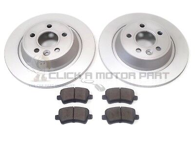LANDROVER FREELANDER 2006-2014 REAR 2 BRAKE DISCS PADS (ELECTRIC HANDBRAKE)