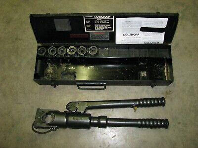 Brundy Hypress Y39 Hydraulic Crimping Manual Pump Crimp Tool 12 Ton Max