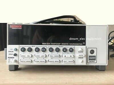 Keithley 6430 Sub-femtoamp Remote Sourcemeter With Accessory