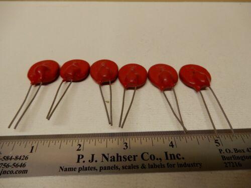 Littlefuse MOV Varistors (6) 20T575E 575V 10K NOS