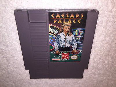 Caesars Palace  Nintendo Entertainment System  Nes Game Cartridge Excellent