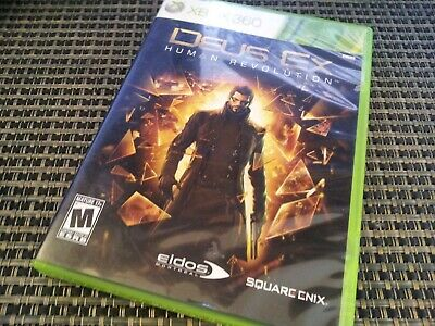 Deus Ex: Human Revolution (Xbox 360 Video Game) Complete SHIPS TODAY for sale  Shipping to Nigeria