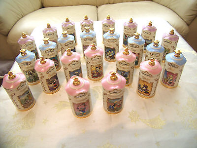 Disney Spice Jar 24 Piece Full Set Lenox 1995 Easter, Mother's Day Birthday Gift
