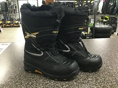 SKI DOO X TEAM BOOTS, YOUTH SIZE SIX, 4441942590