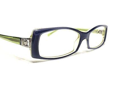 Versace MOD3051-B 480 Women's Blue & Green Modern Rx Eyeglasses Frames 53/16~130