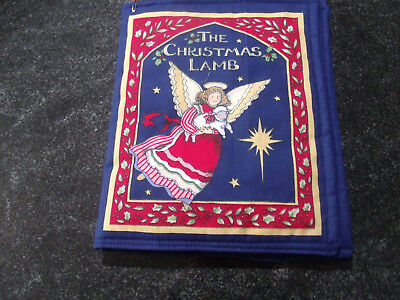 The Christmas Lamb Soft Cloth Book for Children, and Babies (Christmas Clothing For Children)